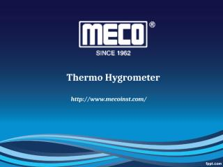 Thermo hygrometer.pptx