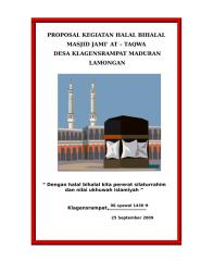 PROPOSAL KEGIATAN HALAL BIHALAL.doc