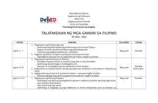 TALATAKDAAN NG MGA GAWAIN SA FILIPINO NG SANGHAY ES.docx
