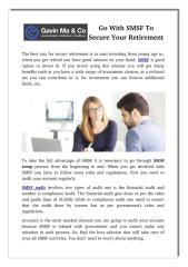 Go With SMSF To Secure Your Retirement.pdf